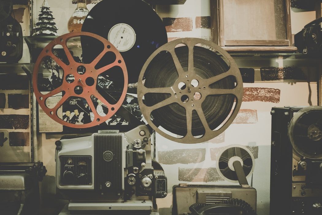 A photo of two reels